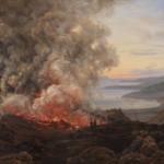 Johan Christian Dahl, Uitbarsting van de Vesuvius, 1821, Statens Museum for Kunst, Kopenhagen.