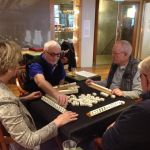 Mahjong in de societeit