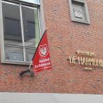 Vlag pand voorzijde