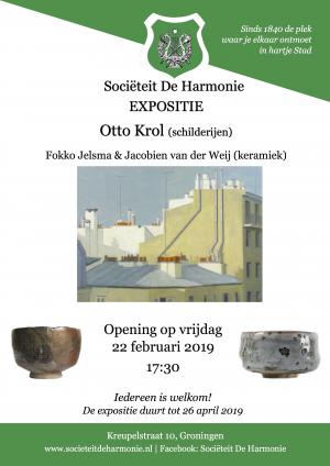 Poster 02-22 expositie otto krol-diagnaal