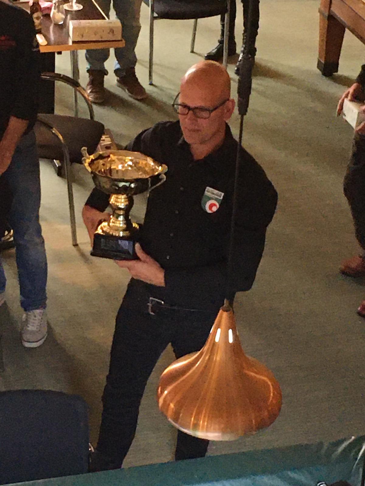 winnaar Sjaak Dorrepaal